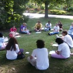 First-year students will partake in small group discussions during orientation.