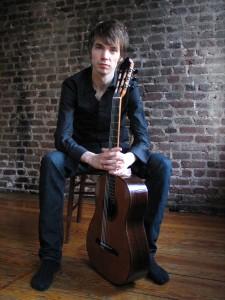Guitarist Mattias Jacobsson