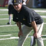 Peter Haugen will coach his first game as head coach of the Gusties on Saturday.