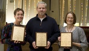 Janet DeMars, Chris Blaschko, and Carolyn Dobler