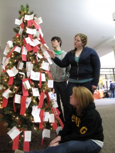 The Angel Tree program is in its 12th year of existence.