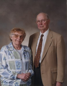 Chester Johnson, pictured with his wife Marian.
