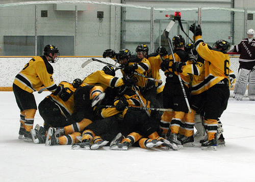 Records Fall in Men's Hockey Victory - Posted on March 1st ...