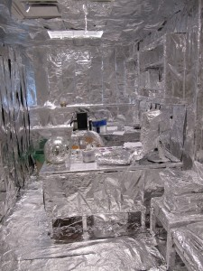 Gustavus Professor Scott Bur's office foiled by research students