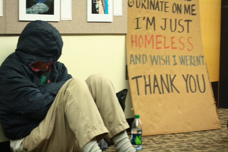 Students Raise Awareness Of Homelessness With Annual