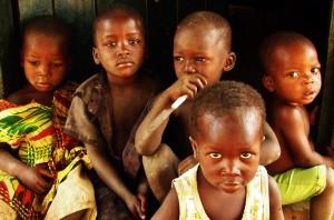 Children in Saboba, Ghana.