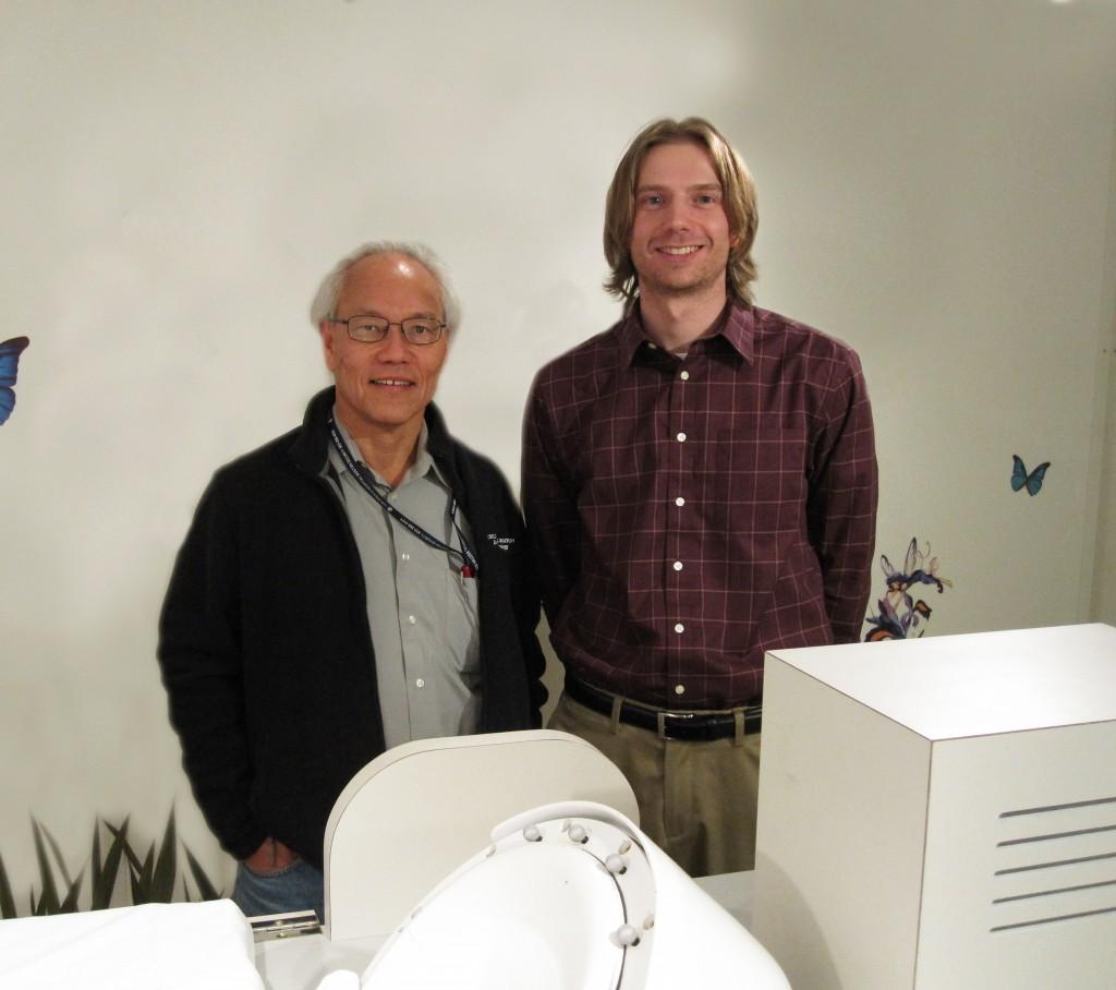 Wachutka and Dr. Yoshio Okada '71 (Photo submitted).