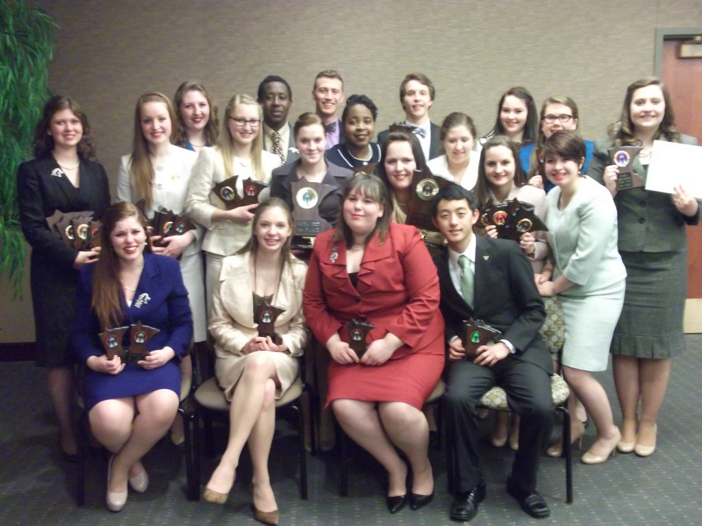 The Gustavus forensics team won its fifth state championship in the last six years on Feb. 17.