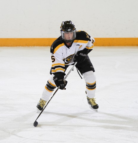 Jenna Christensen has 21 goals and 21 assists in her Gustavus career.