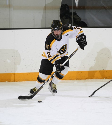 Meagan Wanecke has 38 goals and 36 assists in her Gustavus career.