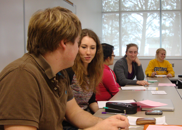 G.O.L.D. participants in discussion at a recent workshop.
