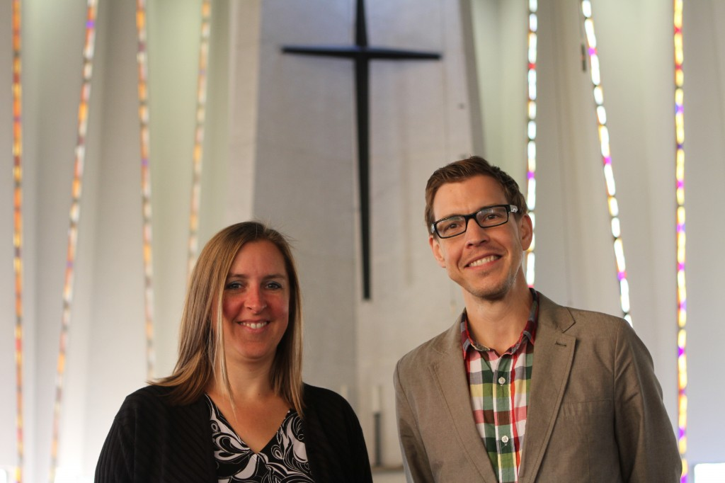 Chaplains Siri Erickson and Brian Konkol