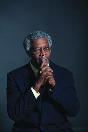 "Portrait of Professor Sylvester James ""Jim"" Gates.  TERP, Spring 2013."