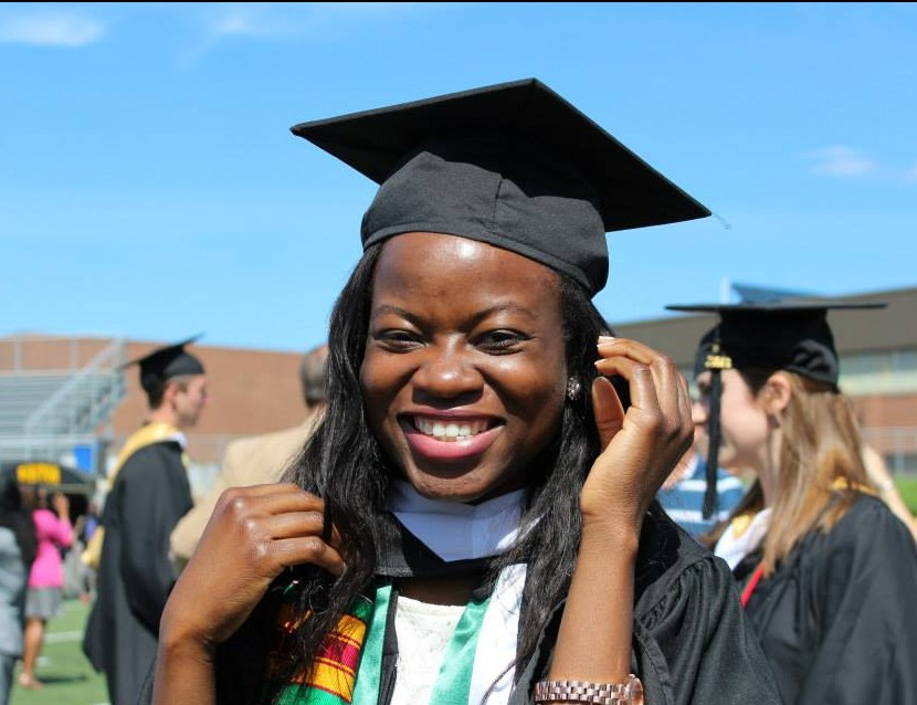 Zainab Jaji graduated in the spring of 2013 with a degree in biochemistry and molecular biology.