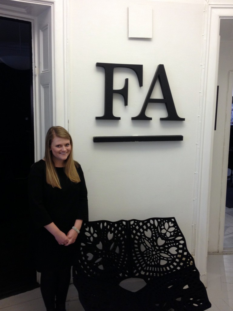 Elizabeth Johnson '14 is interning at Friends Agenda, a public relations and communications agency in Stockholm.