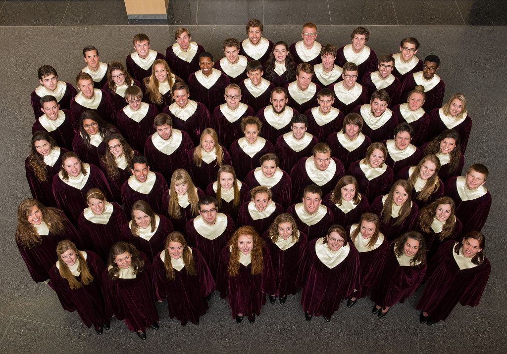 The 2013-14 Gustavus Choir