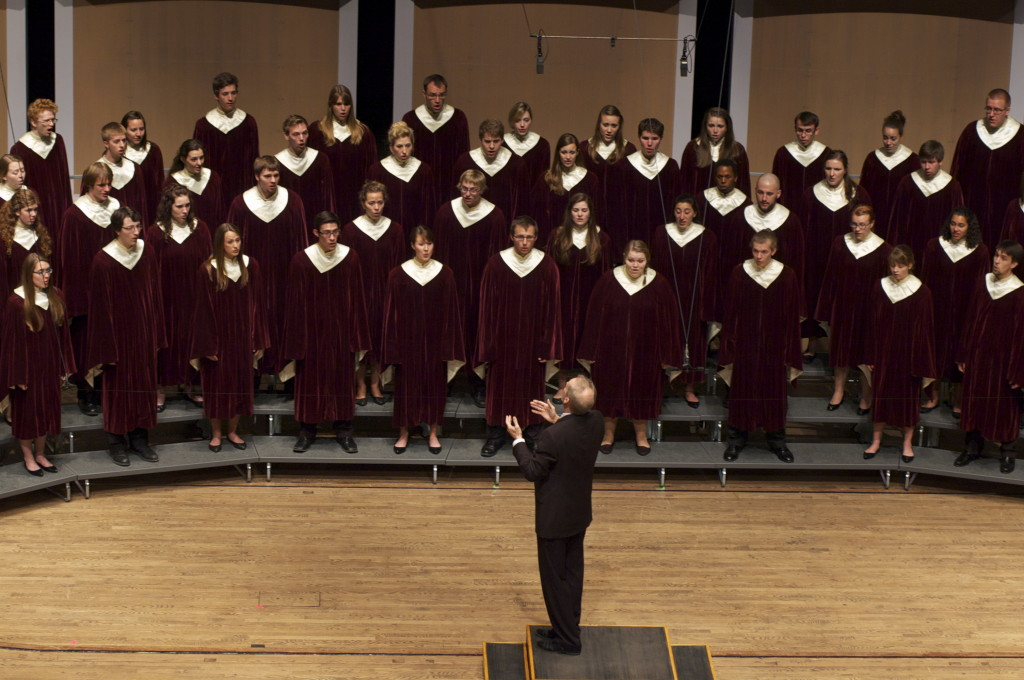 The Gustavus Choir, Gustavus Music Showcase 2012
