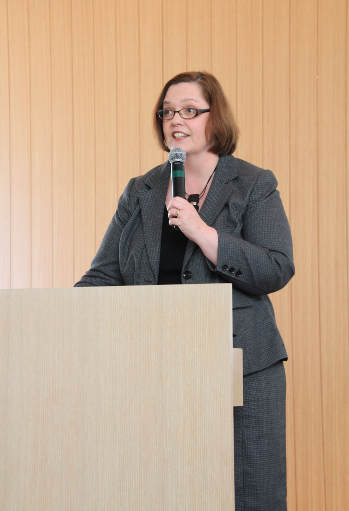 Margaret Anderson Kelliher '90 was one of the keynote speakers at this year's conference (Photo by Erin Luhmann '07).