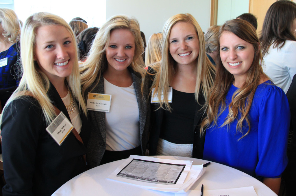 This year's Gustavus Women in Leadership Conference was held at the American Swedish Institute in Minneapolis (Photo by Erin Luhmann '07).