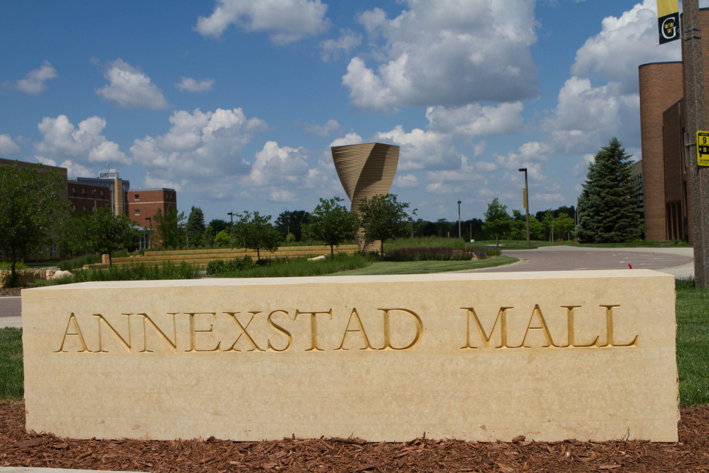 The Annexstad Mall extends west from Christ Chapel to the Linnaeus Arboretum (Photo by Matt Thomas '00).