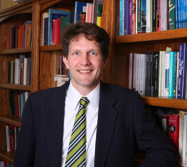 Professor of Classics Eric Dugdale