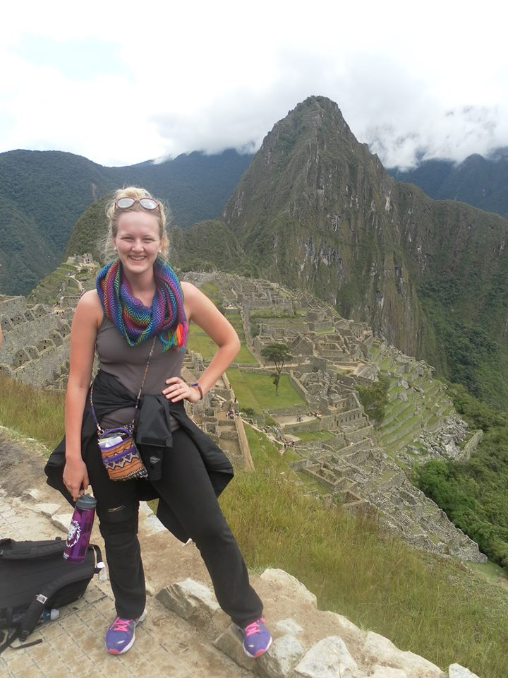 Despite her many commitments on campus, Marquette was able to study abroad in Peru during the College's January Term in 2014.