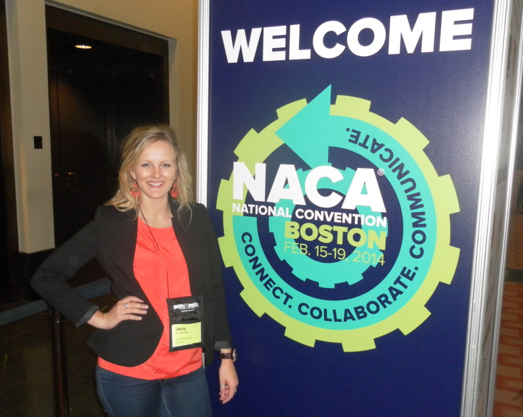 Jenny Marquette made a presentation at the 2014 NACA National Convention in Boston.