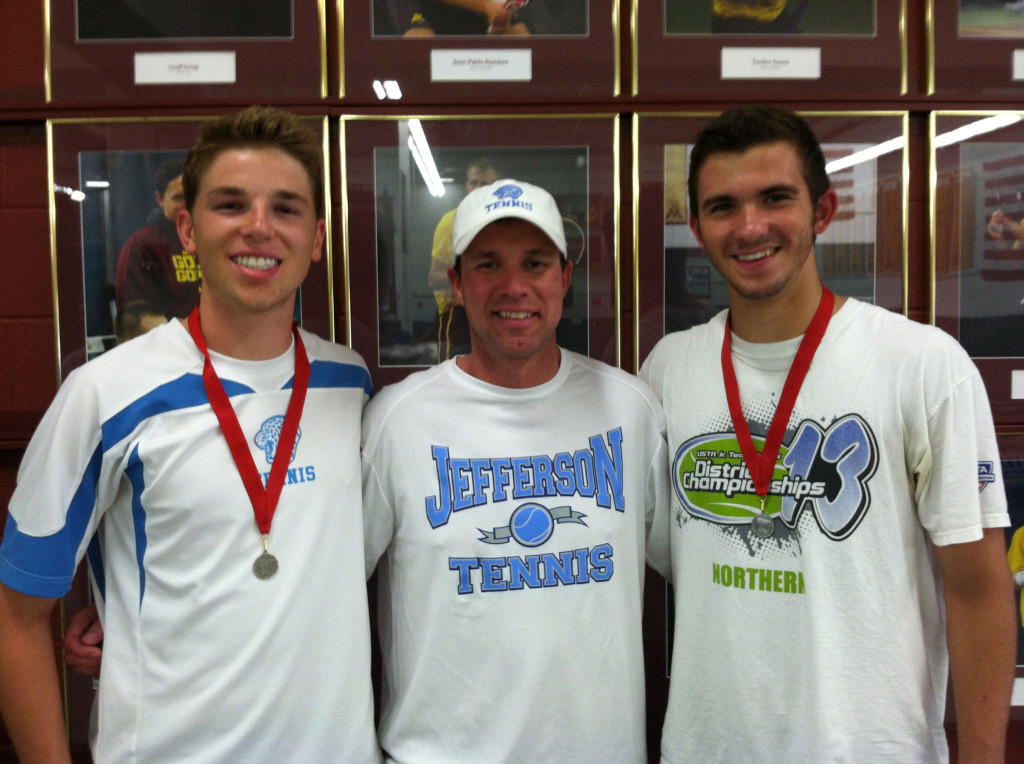 Hupton is the head boys' tennis coach at Bloomington Jefferson High School.