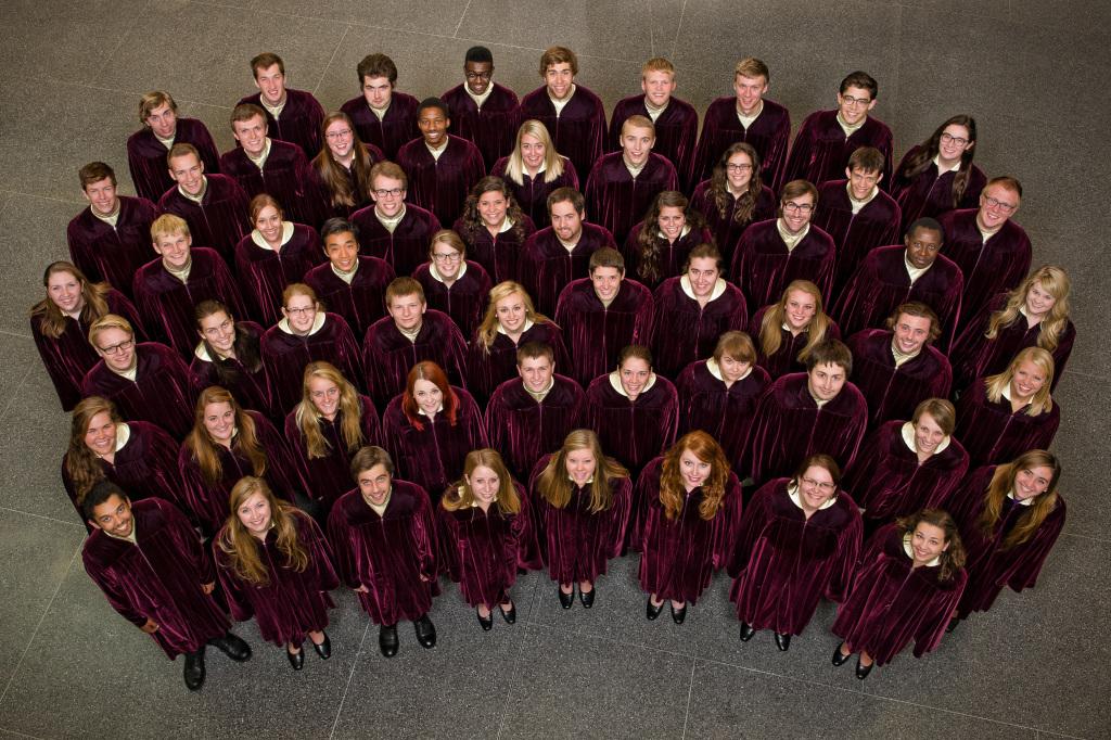 The 2014-15 Gustavus Choir