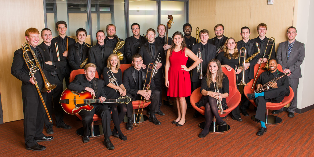 The 2014-15 Gustavus Jazz Lab Band