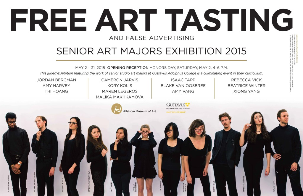 Senior Art Majors 2015