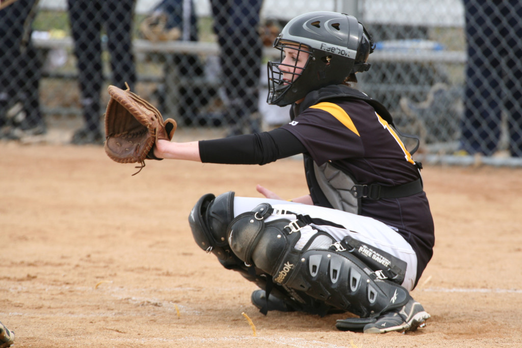 Dahl was a two-year captain of the Golden Gustie softball team.