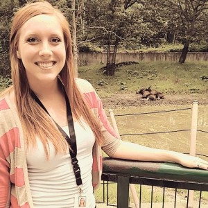 Leah Anderson spent the summer interning at the Minnesota Zoo.