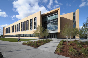 Beck Hall is certified LEED Platinum by the U.S. Green Building Council.