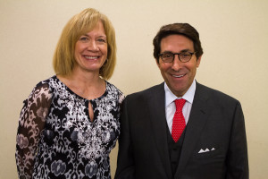 Karen (Lindau) Peikert and Dr. Sekulow.