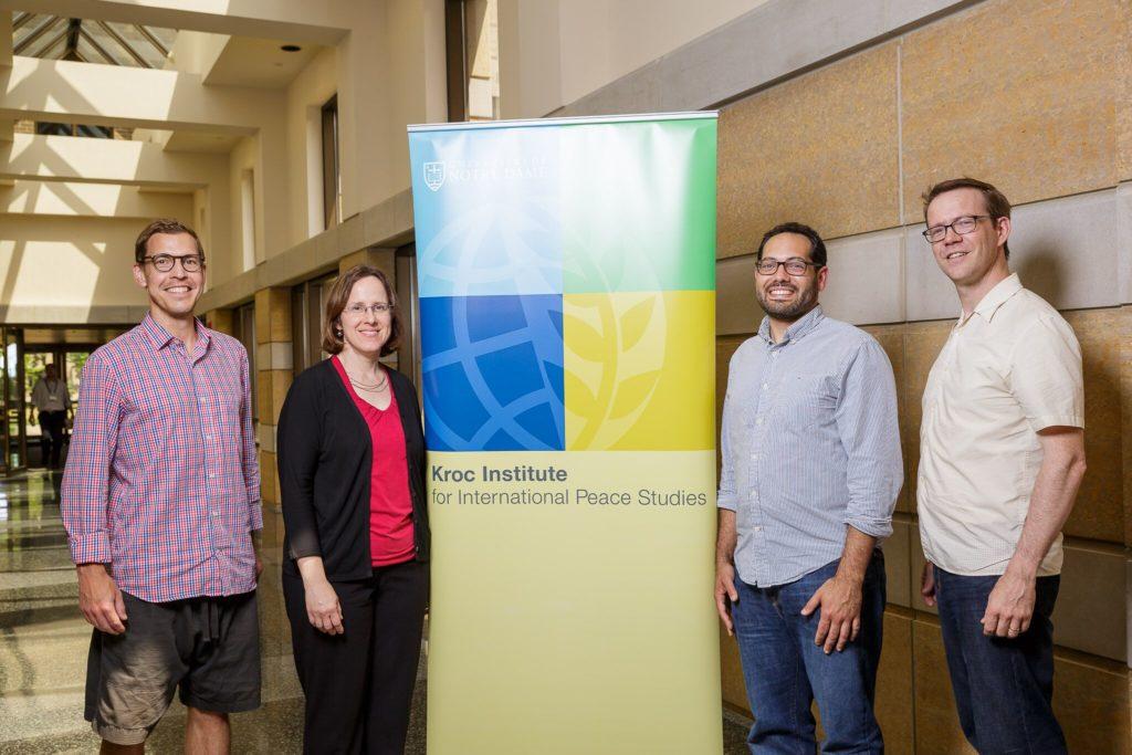 Brian Konkol, Mimi Gerstbauer, Joaquin Villanueva, and Sean Easton represented Gustavus at the institute.