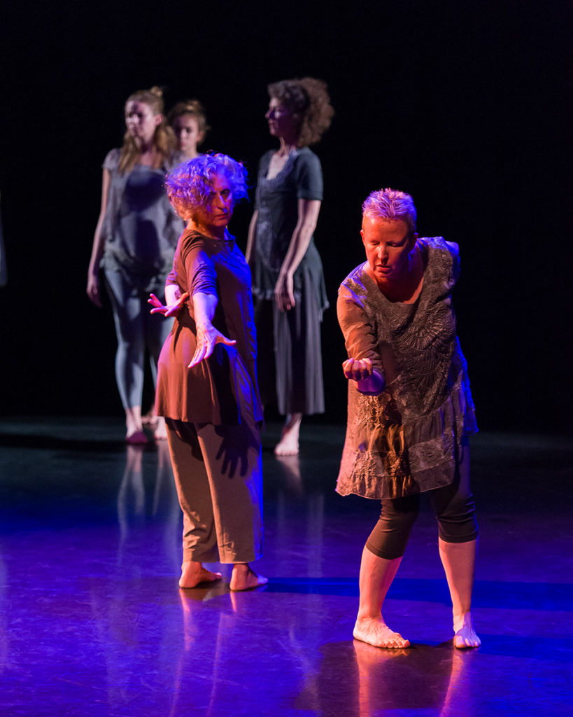 Michele Rusinko (r) and Michal Shahak are featured in Gray Wolves.