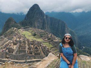Mayra Gurrola-Calderon in Peru.