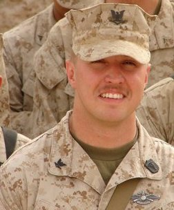 May served as a corpsman with the 2nd Battalion of the 11th Marine Regiment.
